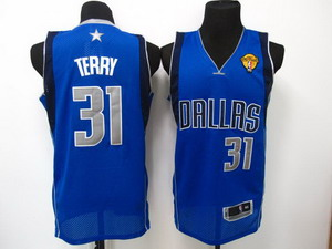nba dallas mavericks 31 terry Swingman LT blue 2011 Finals