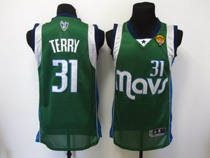 nba dallas mavericks 31 terry Swingman green 2011 Finals