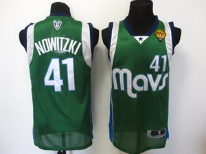 nba dallas mavericks 41 nowitzki green 2011 Finals