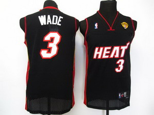 nba miami heat 3 wade Swingman black 2011 Finals
