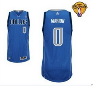 Dallas Mavericks 0 Shawn Marion Blue with 2011 Finals Jersey
