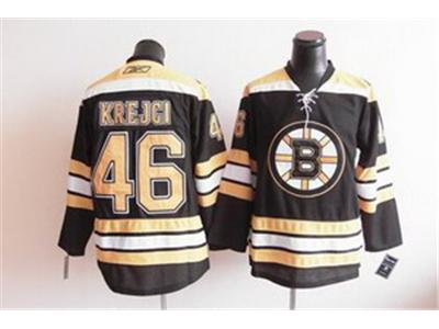 Boston Bruins 46 krejci black jersey