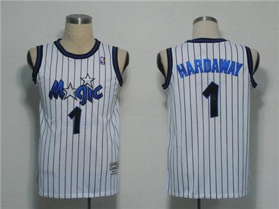 NBA Jerseys Orlando Magic 1 Hardaway White(pinstripes)