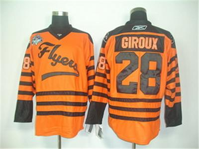 nhl jerseys philadelphia flyers 28 giroux orange[ winter classic]