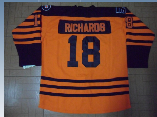 Philadelphia Flyers 18 Mike Richards orange Winter Classic