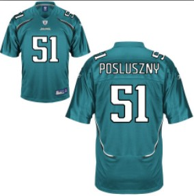 2011 Newest NFL Football Jacksonville Jaguars 51 Paul Posluszny Green Jersey