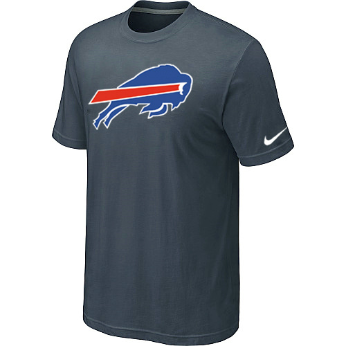 Buffalo Bills Sideline Legend Authentic Logo Dri-FIT T-Shirt Grey