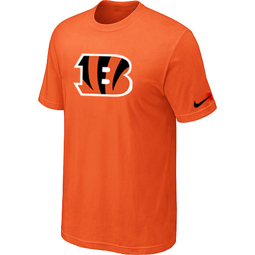 Cincinnati Bengals Sideline Legend Authentic Logo Dri-FIT T-Shirt Orange