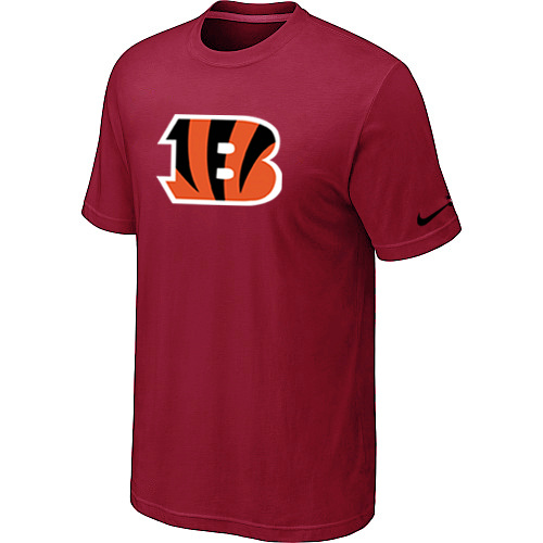 Cincinnati Bengals Sideline Legend Authentic Logo Dri-FIT T-Shirt Red