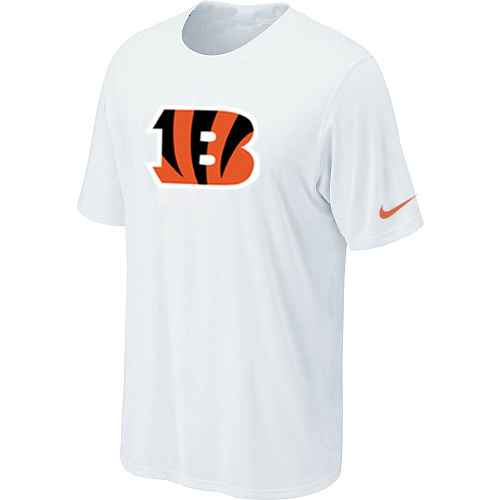 Cincinnati Bengals Sideline Legend Authentic Logo Dri-FIT T-Shirt White