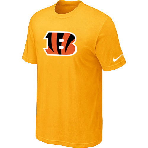 Cincinnati Bengals Sideline Legend Authentic Logo Dri-FIT T-Shirt Yellow
