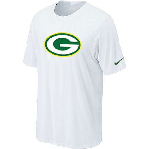 Green Bay Packers Sideline Legend Authentic Logo Dri-FIT T-Shirt White