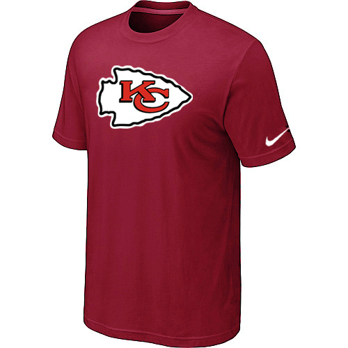 Kansas City Chiefs Sideline Legend Authentic Logo Dri-FIT T-Shirt Red