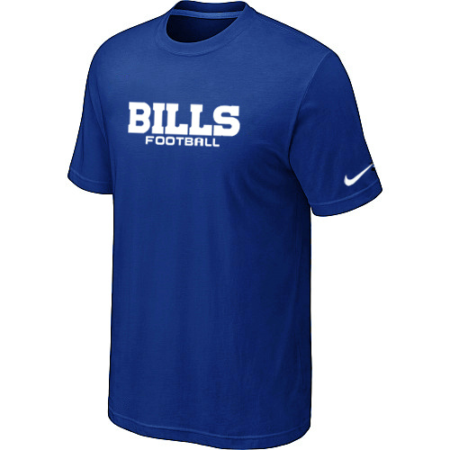 Nike Buffalo Bills Sideline Legend Authentic Font Dri-FIT T-Shirt Bleu
