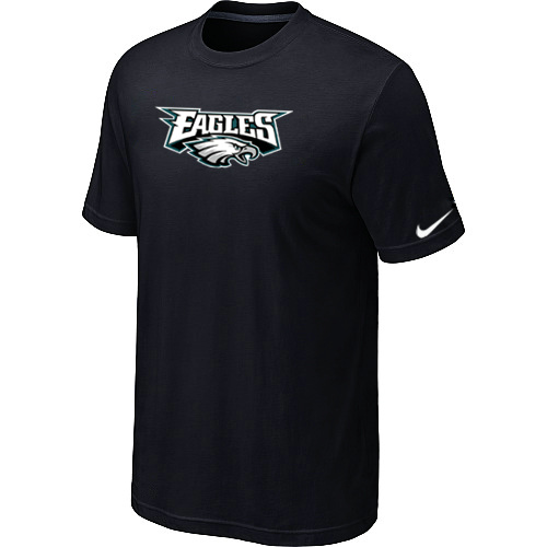 Nike Philadelphia Eagles Authentic Logo T-Shirt BLack