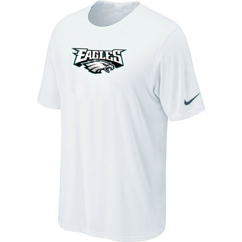 Nike Philadelphia Eagles Authentic Logo T-Shirt White