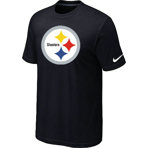 Nike Pittsburgh Steelers Sideline Legend Authentic Logo Dri-FIT T-Shirt Black