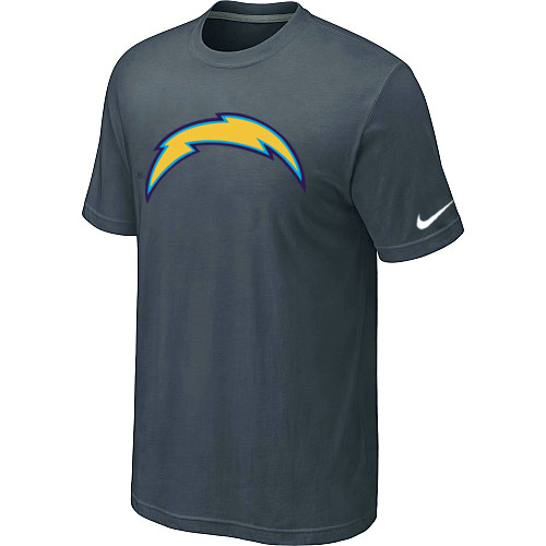 Nike San Diego Chargers Sideline Legend Authentic Logo Dri-FIT T-Shirt Grey