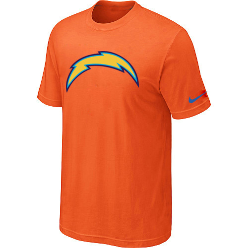 Nike San Diego Chargers Sideline Legend Authentic Logo Dri-FIT T-Shirt Orange