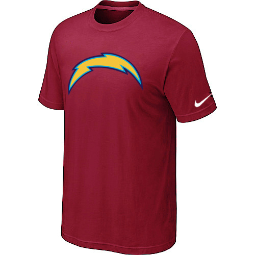 Nike San Diego Chargers Sideline Legend Authentic Logo Dri-FIT T-Shirt Red