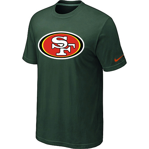 Nike San Francisco 49ers Sideline Legend Authentic Logo Dri-FIT T-Shirt D.Green