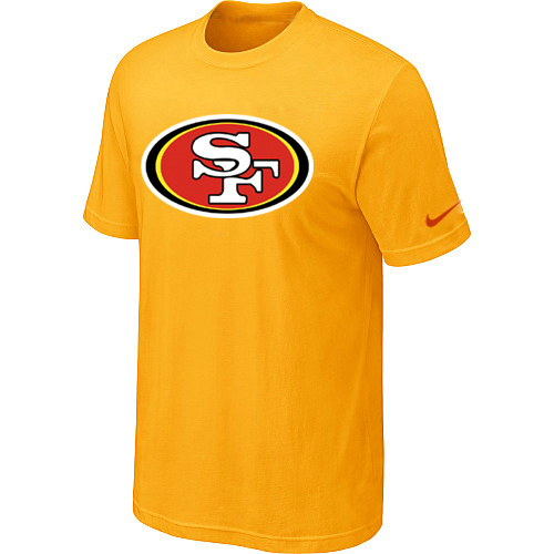 Nike San Francisco 49ers Sideline Legend Authentic Logo Dri-FIT T-Shirt Yellow