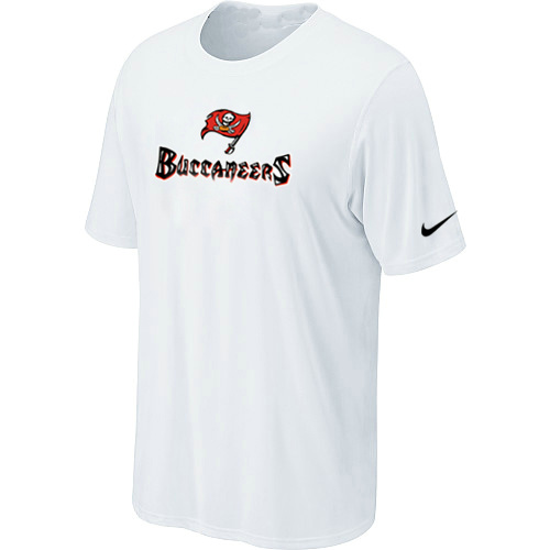 Nike Tampa Bay Buccaneers Authentic Logo T-Shirt - White