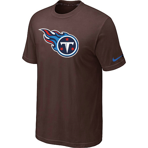 Nike Tennessee Titans Sideline Legend Authentic Logo Dri-FIT T-Shirt Brown