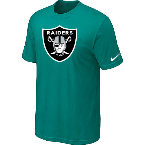 Oakland Raiders Sideline Legend Authentic Logo Dri-FIT T-Shirt Green