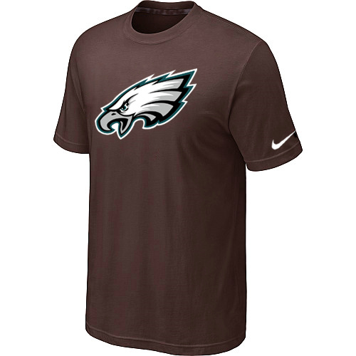 Philadelphia Eagles Sideline Legend Authentic Logo Dri-FIT T-Shirt Brown