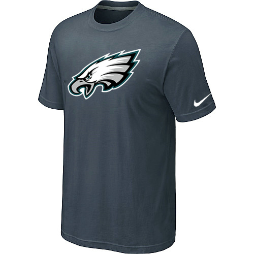 Philadelphia Eagles Sideline Legend Authentic Logo Dri-FIT T-Shirt Grey