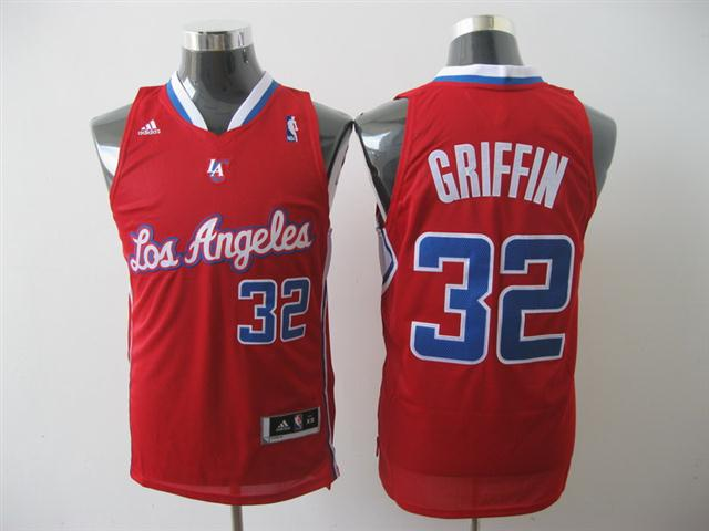 Los Angeles Clippers 32 Griffin Red(Swingman)NBA Jersey