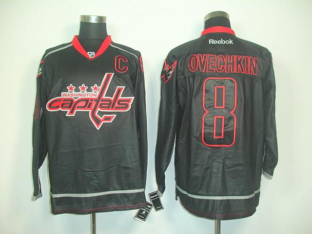 NHL Jerseys Washington Capitals 8 Alex Ovechkin black WINTER CLASSIC