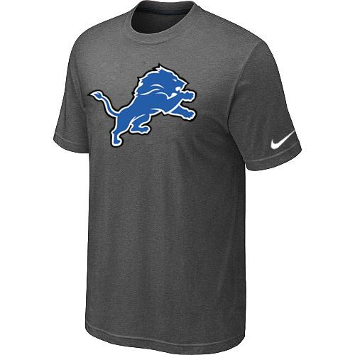 Detroit Lions Sideline Legend Authentic Logo Dri-FIT T-Shirt Dark grey