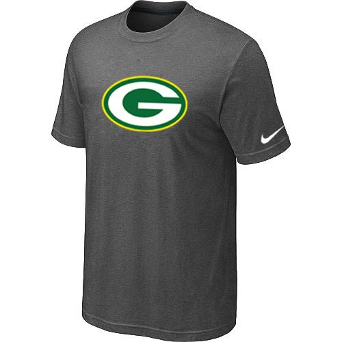 Green Bay Packers Sideline Legend Authentic Logo Dri-FIT T-Shirt Dark grey