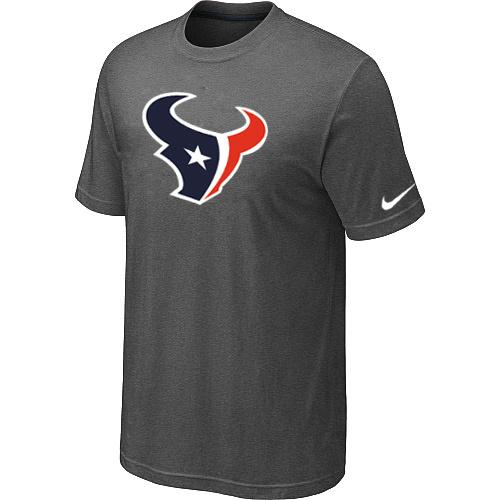 Houston Texans Sideline Legend Authentic Logo Dri-FIT T-Shirt Dark grey