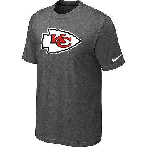 Kansas City Chiefs Sideline Legend Authentic Logo Dri-FIT T-Shirt Dark grey