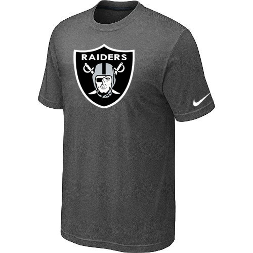 Oakland Raiders Sideline Legend Authentic Logo Dri-FIT T-Shirt Dark grey