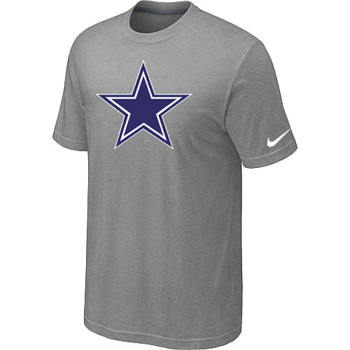 Dallas Cowboys Sideline Legend Authentic Logo Dri-FIT T-Shirt Light grey