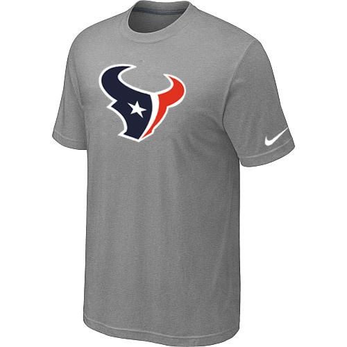 Houston Texans Sideline Legend Authentic Logo Dri-FIT T-Shirt Light grey