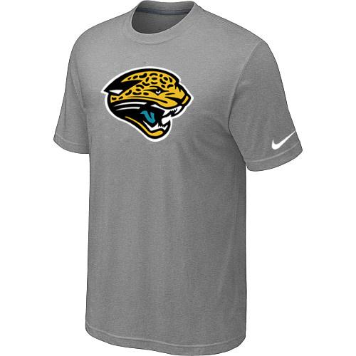 Jacksonville Jaguars Sideline Legend Authentic Logo Dri-FIT T-Shirt Light grey