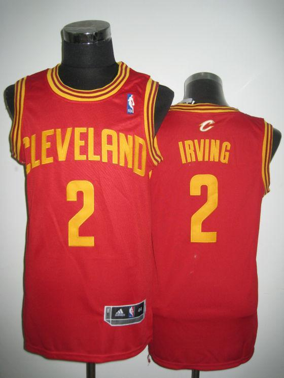 Cleveland Cavaliers 2 Irving red Jerseys