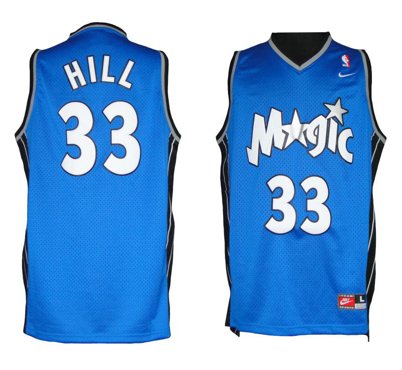 NBA Orlando Magic 33 Grant Hill Soul Swingman Jersey