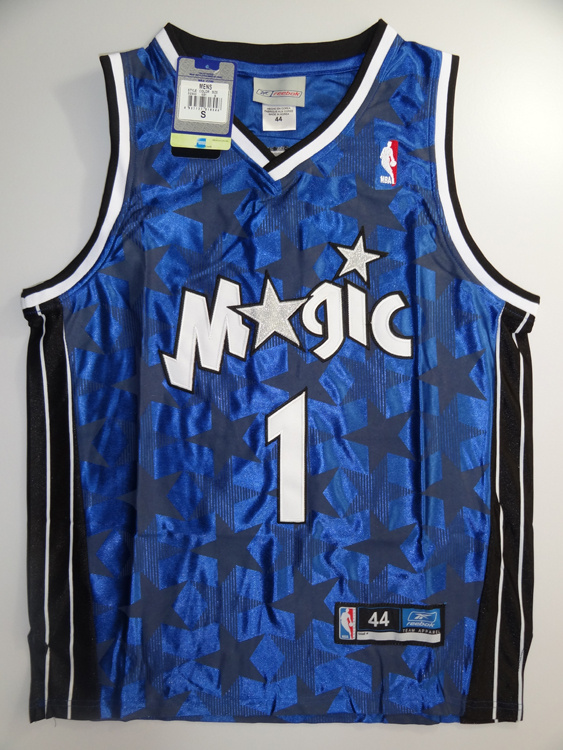 Orlando Magic 1 Tracy McGrady blue Jersey