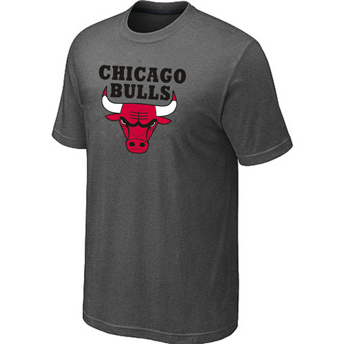 Chicago Bulls Big & Tall Primary Logo D.Grey T-Shirt