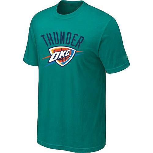 Oklahoma City Thunder Big & Tall Primary Logo Green T-Shirt