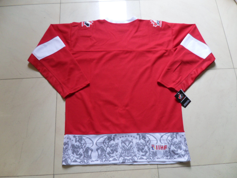 Olympics Canada Blank Red Jersey