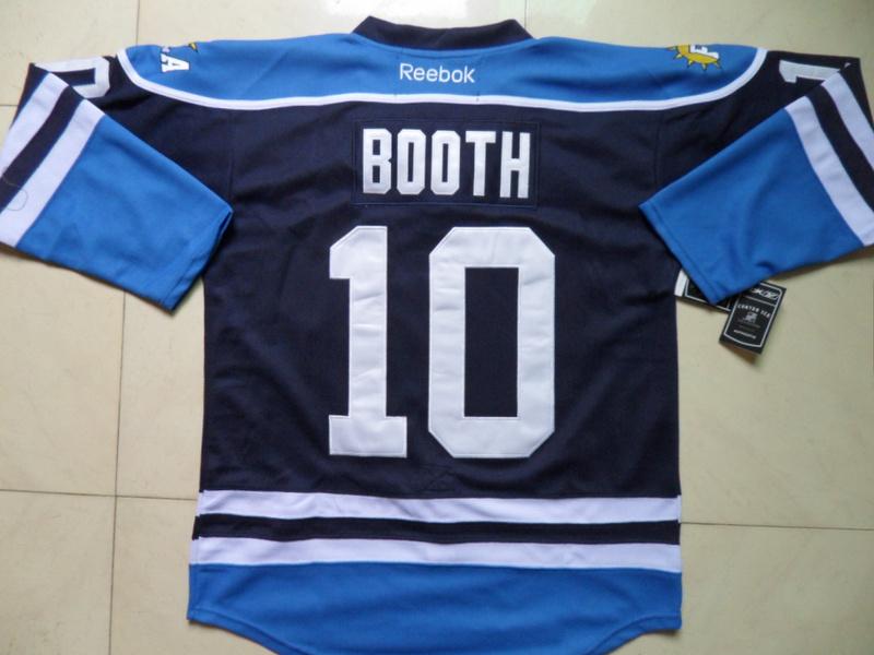 NHL Florida Panthers 10 David Booth Blue Third Jersey