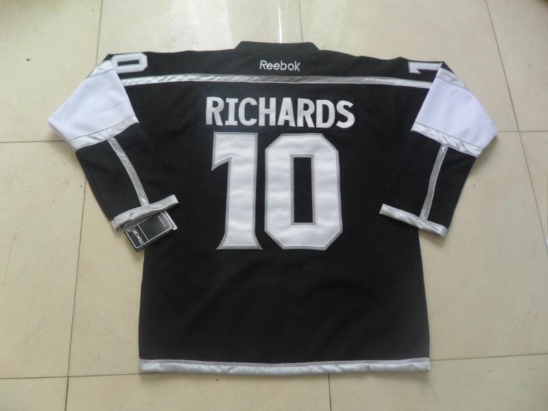 NHL Los Angeles Kings 10 Richards Black New Third Jersey
