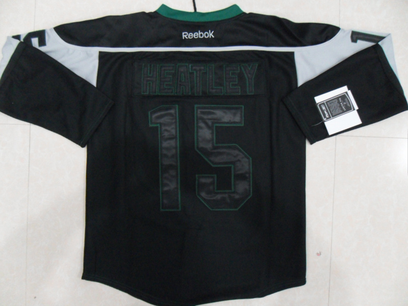 NHL Minnesota Wild 15 Dany Heatley Black Ice Jersey